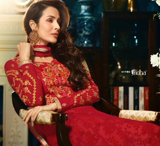 06127426bb FIONA ZARA VOL 7 MALAIKA ARORA HEAVY EMBROIDERY SUITS EID COLLECTION  WHOLESALE RATE
